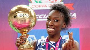 La Coppa Italia a Conegliano: gli scatti del trionfo