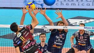 SuperLega: Vibo e Perugia pareggiano le serie, Trento in semifinale