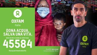 """Dona acqua, salva una vita"": Quagliarellae Magnini perOxfam"