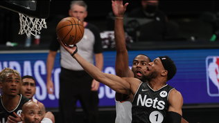 Ai Nets il derby di New York, i Lakers travolgono Golden State