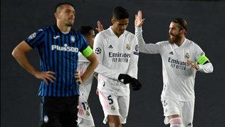 Atalanta, niente impresa: troppi errori,il Real vola ai quarti
