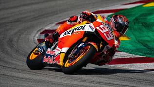 Marquez, prove di rientro verso Losail: le foto del test in pista a Barcellona
