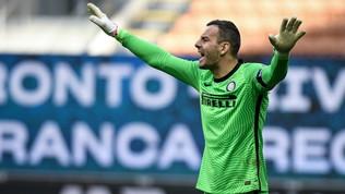 Allarme Inter: positivo al Covid anche Handanovic