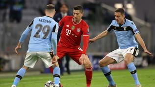 Lazio, mani in alto contro il Bayern: l'Italia saluta la Champions