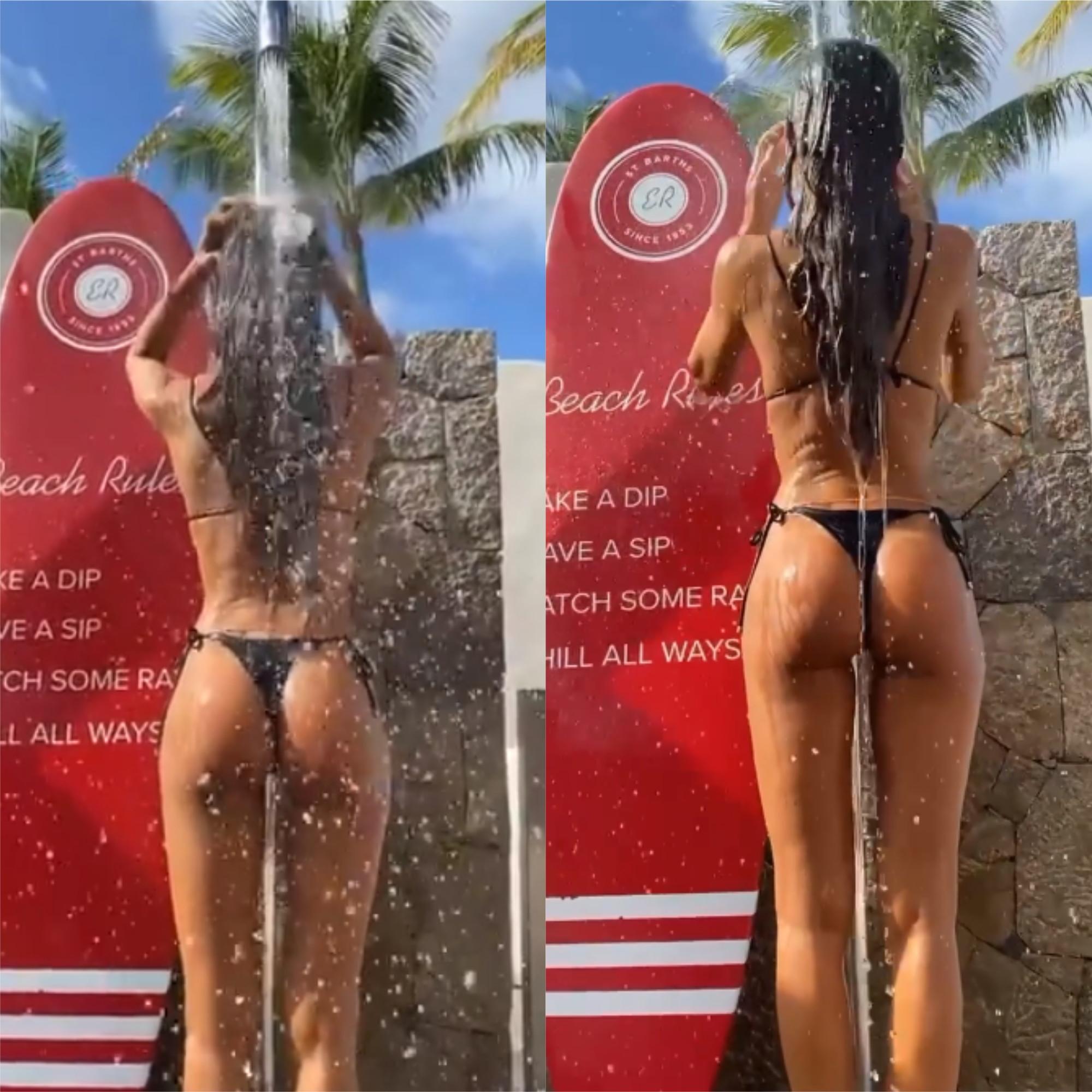 Izabel Goulart, fidanzata di Kevin Trapp (portiere dell&#39;Eintracht Francoforte), condivide con i follower di Instagram un momento di nostalgia: una doccia in bikini sotto il sole. Presto torner&agrave; l&#39;estate e&nbsp;la modella potr&agrave; tornare a godersi l&#39;acqua durante la calura estiva...<br /><br />