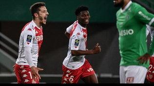 Ligue 1: il Monaco stravince e avvisa le altre big, Saint-Etienne asfaltato 4-0