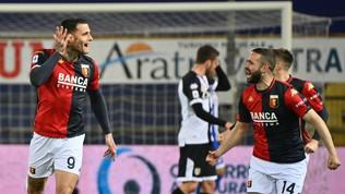 Scamacca-show eil Genoa vede la salvezza: Pellènon basta, Parmanel baratro
