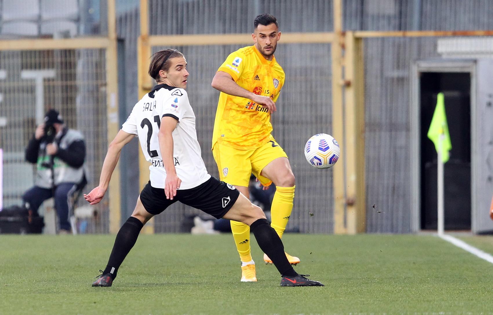 Spezia-Cagliari 2-1, le foto pi&ugrave; belle<br /><br />