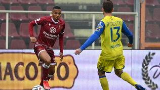 Denis salva la Reggina e riprende il Chievo, Salernitana terza