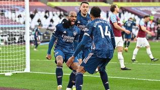 L'Arsenal rimonta tre gol al West Ham| Colpo esterno del Tottenham
