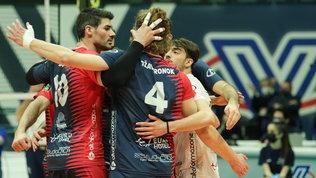SuperLega: storica semifinale per Monza, Perugia elimina Milano