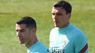 Portogallo, allenamento verso l'Azerbaigian con Cristiano Ronaldo