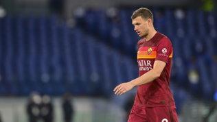 Dzeko, la Roma tira un sospiro di sollievo: nessuna lesione