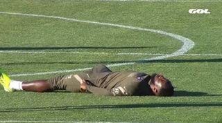 Dembélé, che spavento: sviene durante l'allenamento, ora sta bene