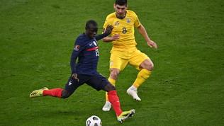 Francia-Ucraina: le foto del match