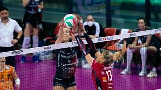 Serie A1: Scandicci, Perugia e Firenze ai quarti. E Casalmaggiore?
