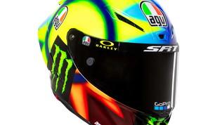 Valentino Rossi, nuovo casco per la stagione 26