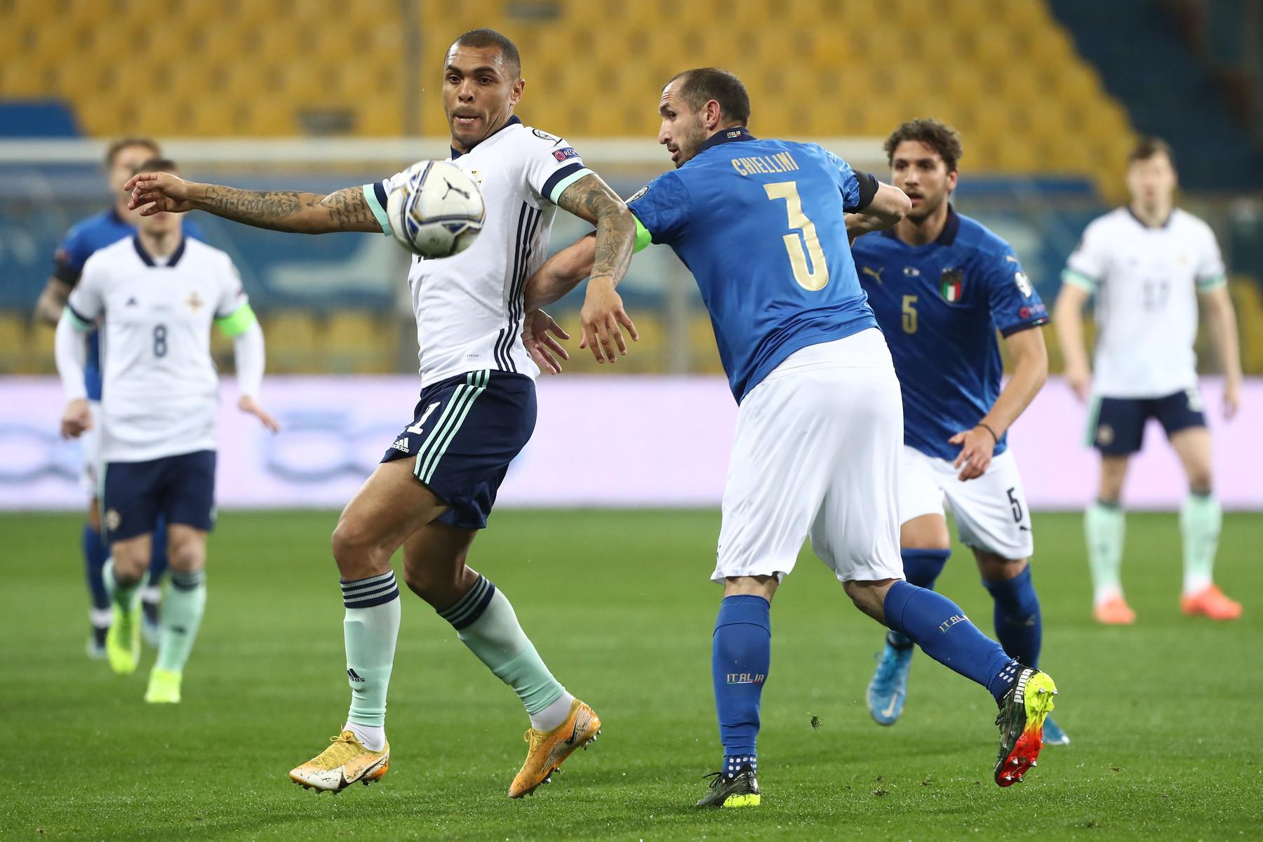 Italia-Irlanda del Nord 2-0, le migliori foto.<br /><br />