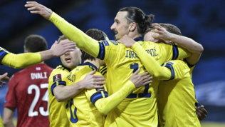 """Ibrasi mette la corona dopo l'assist decisivo: """"Sono il re di Svezia"""""""