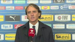 """Mancini: """"Ottimo primo tempo"""""""