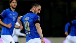 """Bonucci festeggia le 100 presenze azzurre: """"Emozione ed entusiasmo"""""""