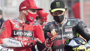"""Rossi: """"Tutti vanno forte"""". Morbidelli: """"Siamo fiduciosi"""""""