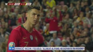 CR7 contro la Serbia
