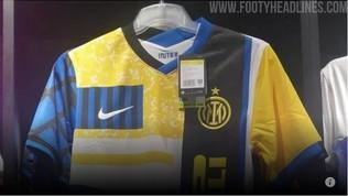 Inter, svelata la quarta maglia: la prima col nuovo logo