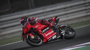 Bagnaia si regala la prima pole e fa felice la Ducati