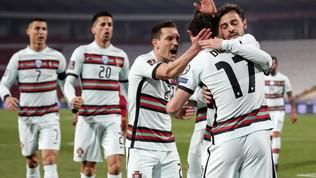 CR7 ancora a secco, non basta Jota al Portogallo: con la Serbia è 2-2