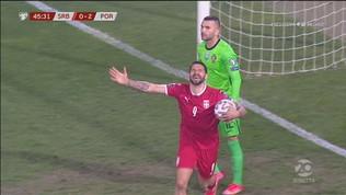 Serbia-Portogallo, Mitrovic riapre la partita