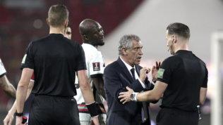 """Portogallo, Santosrivela: """"L'arbitro era imbarazzato, si è scusato"""""""