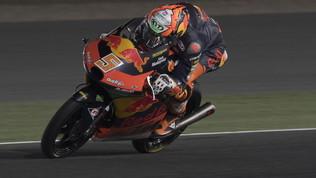 Doppietta KTM, Masiavince davanti al rookie Acosta