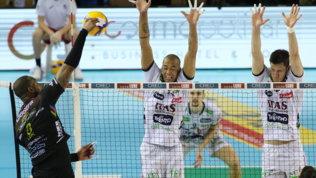 Trento sbanca Civitanova, Monza sfiora il colpo contro Perugia