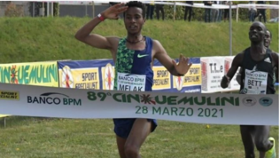 La Cinque Mulini dominata dagli etiopi