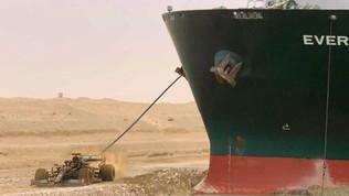"""Il rimorchiatore Lewis sblocca la Ever Given: """"Ha liberato il canale di Suez"""""""