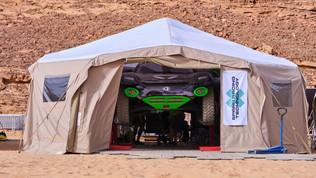 Il paddock nel deserto: Extreme E sbarca in Arabia Saudita