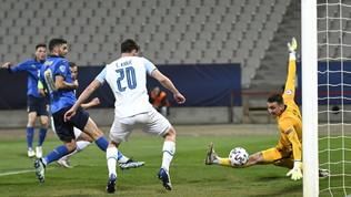 Italia-Slovenia, le immagini del match