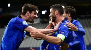Poker Italia alla Slovenia, Cutrone guida gli azzurrini ai quarti