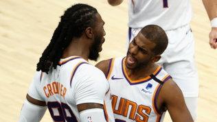 Gallo fa 13 ma vincono i Suns, Denver doma Phila,clamoroso ko Clippers