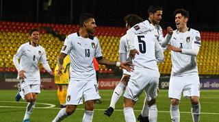 L'Italia passa in Lituania con Sensi e Immobile: Mancini come Lippi