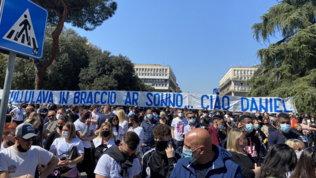 L'ultimo saluto a Daniel:Lazio, Roma e Torino unite nel cordoglio