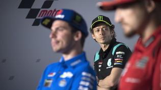 """Rossi: """"Sono in difficoltà"""". Morbidelli: """"Giornata movimentata"""""""