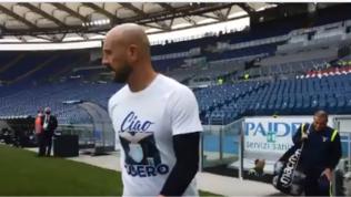 """""""Ciao Guero"""": Lazio in campo nel ricordo di Guerini"""