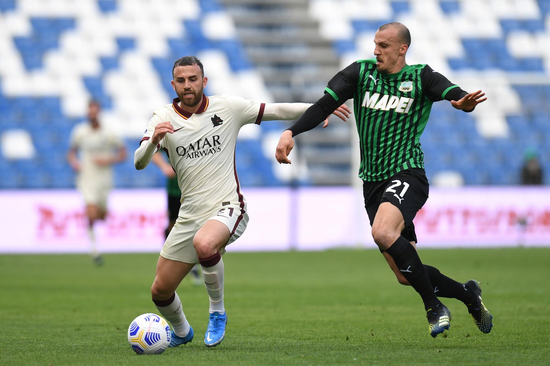 Serie A, Sassuolo-Roma 2-2: per Fonseca la Champions si allontana   News -  Sportmediaset