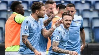 Caicedo entra e segna, la Lazio tiene viva la rincorsa Champions