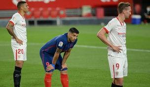 Atletico ko a Siviglia: Real Madrid e Barcellona si avvicinano