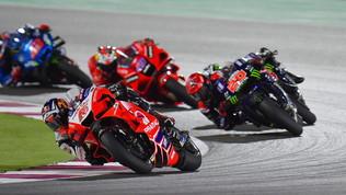 Quartararo-Martin incantano, flop Ducati ufficiali.Honda e Rossi da incubo