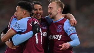 Premier League: l'Everton sbatte sul Crystal Palace, Lingard fa volare il West Ham