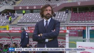 """Juve-Napoli, Pirlo: """"Rispettiamo il protocollo"""""""